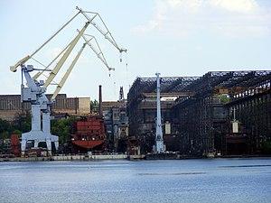 Mykolayiv Shipyard - Drydock of Mykolayiv Shipyard