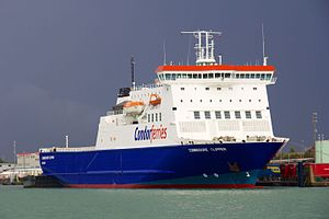 Condor Ferries - The Commodore Clipper