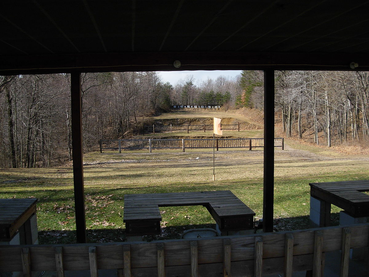 Shooting ranges in the united states wikipedia for Outdoor shooting range design plans