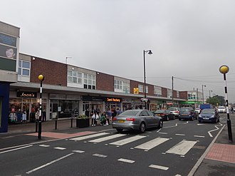 Garforth - Image: Shopping Parade, Main Street, Garforth (19th July 2014)