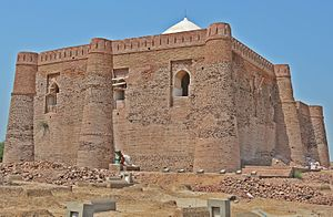 Seljuk architecture - Image: Shrine of Warrior Khalid Waleed (Back side Image)