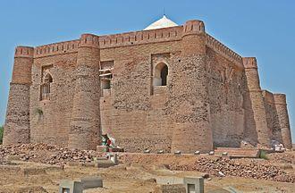 Seljuk architecture - Image: Shrine of Warrior Khalid Waleed (Back side Image)