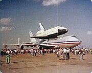 Shuttle Enterprise at Ellington Airfield 1978 4