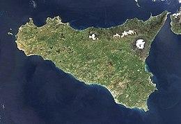 Immagine satellitare dell'isola