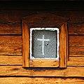 Side window of St. George's Chapel in Neiden Norway.jpg