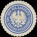 Siegelmarke Der K. Landrath des Kreises Heiligenbeil W0391536.jpg