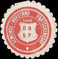 Siegelmarke Gemeinde-Vorstand Partschendorf W0320533.jpg