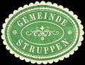 Siegelmarke Gemeinde Struppen W0252302.jpg