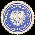 Siegelmarke Königliche Lyceum Hosianum zu Braunsberg W0235310.jpg