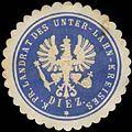 Siegelmarke K.Pr. Landrat des Unter-Lahn-Kreises Diez W0391601.jpg