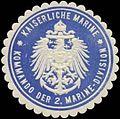 Siegelmarke K. Marine Kommando der 2. Marine-Division W0337690.jpg
