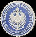 Siegelmarke K. Marine Kommando der Sperrfahrzeugdivision der Ems W0370807.jpg
