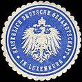 Siegelmarke Kaiserlich Deutsche Gesandtschaft in Luxemburg W0223574.jpg