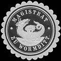 Siegelmarke Magistrat zu Wormditt W0331511.jpg