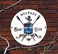 Sign, Belfast Boat Club - geograph.org.uk - 758100.jpg
