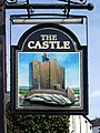 Sign for The Castle pub - geograph.org.uk - 964751.jpg