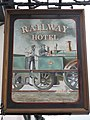 Sign for the Railway Hotel - geograph.org.uk - 829940.jpg