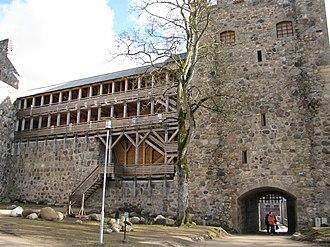 Sigulda Medieval Castle - Sigulda Castle ruins