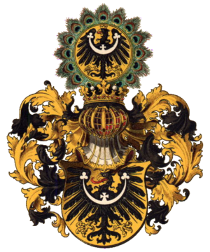 Lower Silesia - Silesian coat of arms, as drawn by Hugo Gerard Ströhl (1851–1919)