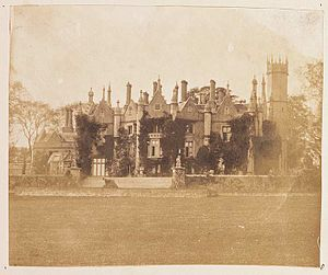 Singleton Abbey - Singleton in 1854
