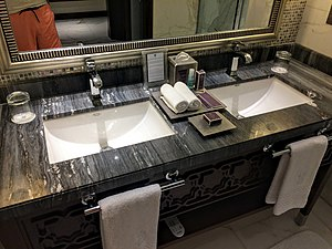 Sink - Double sink made from marble