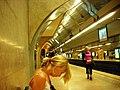 Sitting women in Lisbon Metro (1431170129).jpg