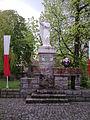 Skwer Św. Małgorzaty - pomnik patronki miasta Tuchola - panoramio.jpg