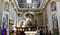 Slovénie, Ljubljana, Cathédrale Saint-Nicolas (Stolnica svetega Nikolaja), Chœur et maître-autel (46057646742).jpg