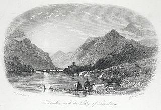 Snowdon and the Lake of Llanberis