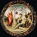 Sodoma, venere terrestre con eros e venere celeste con anteros (allegoria dell'amore), 1508 CA..JPG