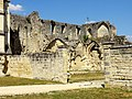 Soissons (02), abbaye Saint-Jean-des-Vignes, ruine du bâtiment des cuisines, vue depuis le sud-ouest 1.jpg