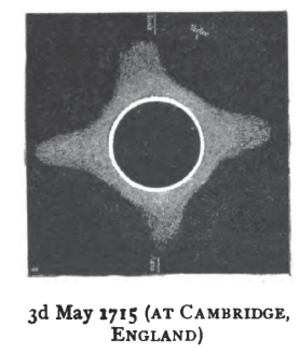 Solar eclipse of May 3, 1715 - Image: Solar eclipse 1715May 03 Cambridge England