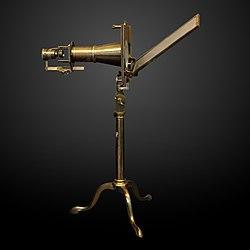 Charles Chevalier: Solar microscope-CNAM 1832