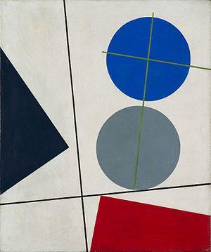 Sophie Taeuber-Arp - Kompozycja, 1931