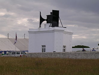 Souter Lighthouse - Present-day foghorn