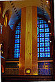 South facade window & Our Lady niche - Basilica of Aparecida - Aparecida 2014.jpg