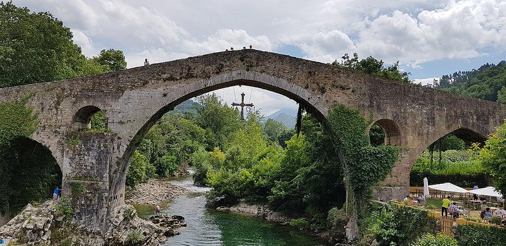 Spain - Pont romà (Cangas de Onís) - 20170723154559