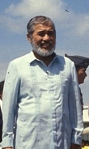 Philippine presidential election, 1992 - Image: Speaker Ramon Mitra