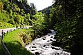 Special attraction for bikers this very curled road in the Wehra valley along the river - panoramio.jpg