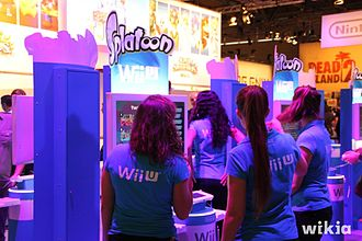 Gamescom - Splatoon booth at Gamescom 2014