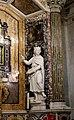 Spoleto, duomo, interno, cappella della santissima icona 04 re forse salomone, dell'algardi.jpg