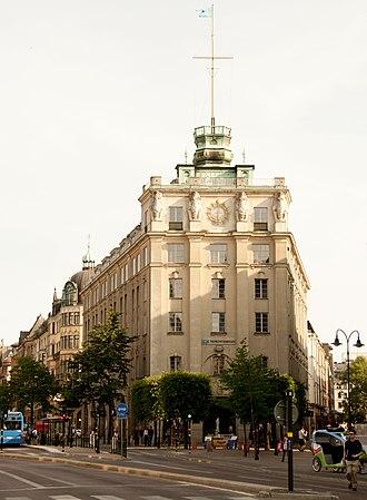 Nordstjernan - The main office in Stockholm