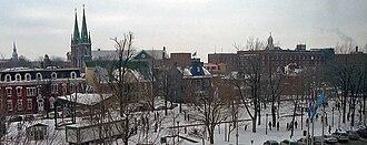 Saint-Hyacinthe, Quebec - Parc Casimir-Dessaules.