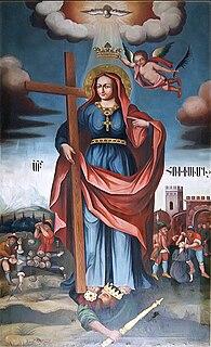 Hripsime third century Christian martyr of Roman origin