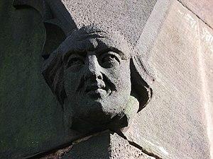 Wolstanton - Image: St Margarets Church Gargoyle 1