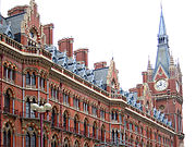 Scott felt that St Pancras station was his most successful project.