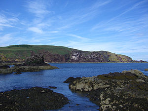 St Abb's Head - St Abb's Head seen from the south near the village of St Abbs