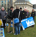St Andrews Square, Protest March 30 2013 - 02.jpg