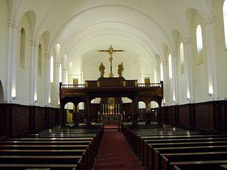 St John's College, Johannesburg - St John's College main Chapel.