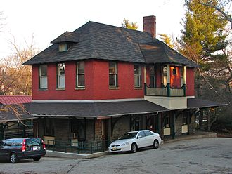 Chestnut Hill West Line - The Pennsylvania Railroad opened St. Martins in 1883